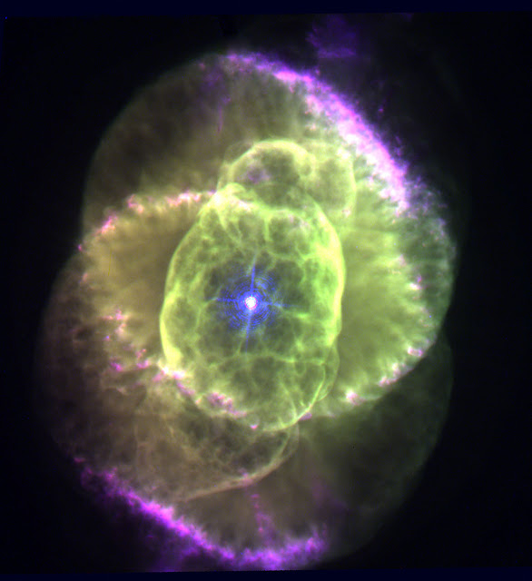Cat's Eye Nebula Wallpaper HD