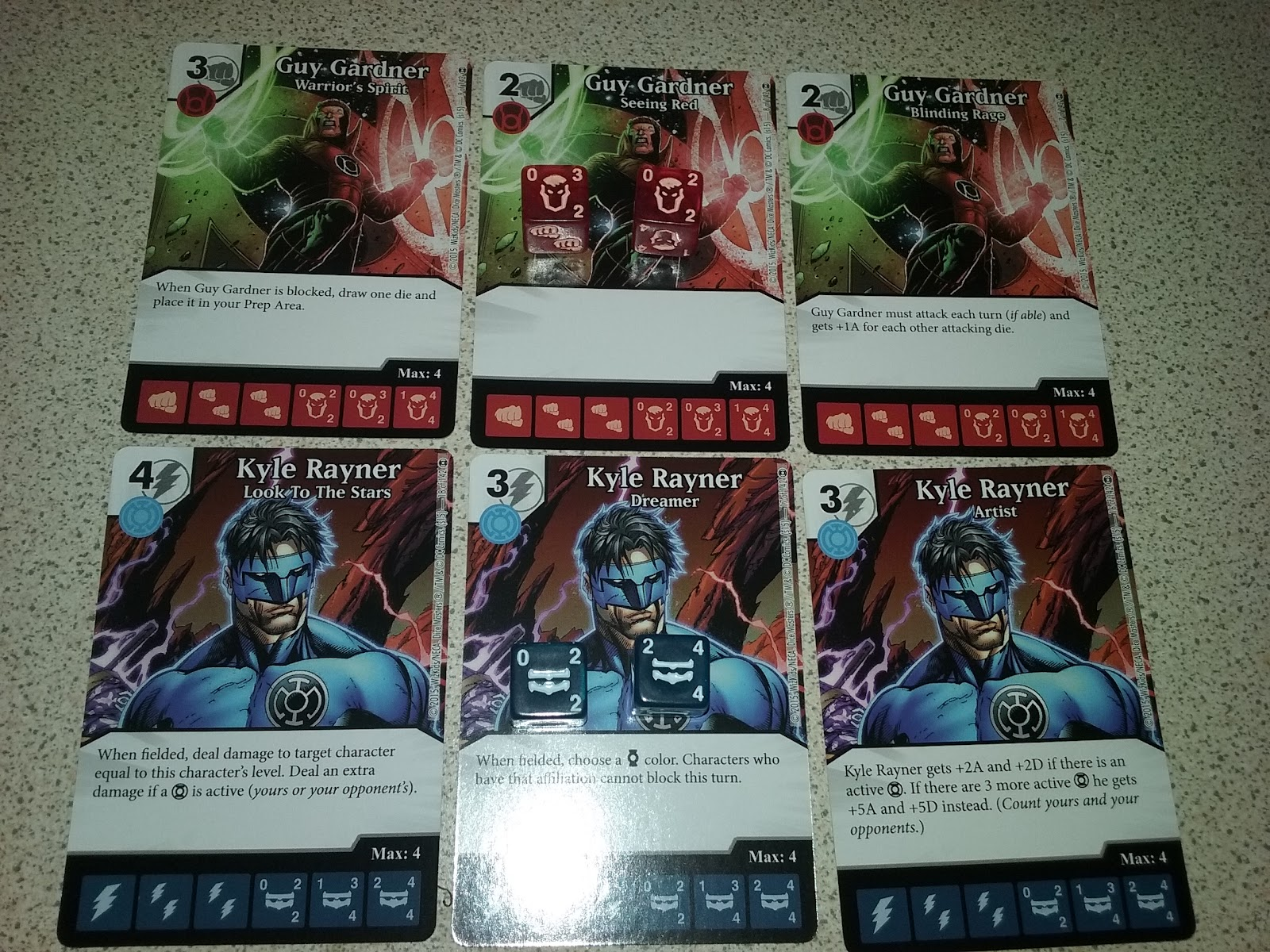 The Garage Gamers Dice Masters Dc War Of Light Two