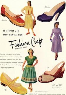 4dfb7cca2 ... peep toes, salto cubano, salto fino/stiletto (que enfatizavam a  fragilidade feminina), saltos mais grossos e sapatos baixos: todos eram  populares.