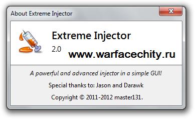 Инжектор к Eu/Na/Ru WarFace