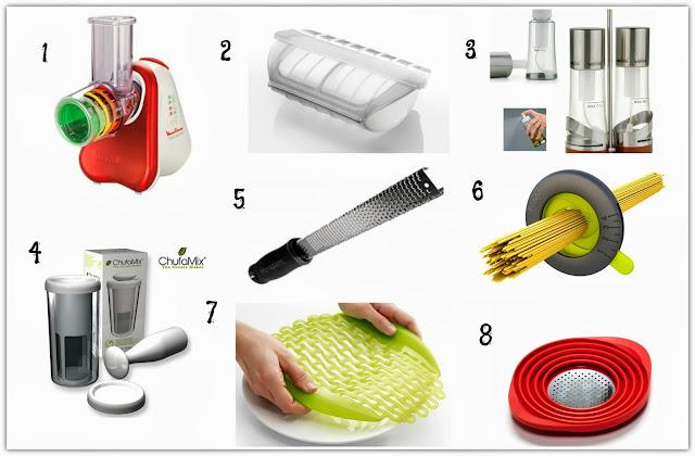 Productos que me gustan II: aparatos y utensilios que nos hacen la vida más fácil en la cocina