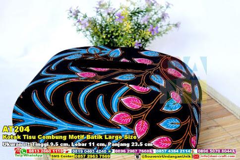 Kotak Tisu Cembung Motif Batik Large Size