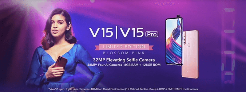 Vivo signs Maine Mendoza, launches V15 Limited Edition Blossom Pink