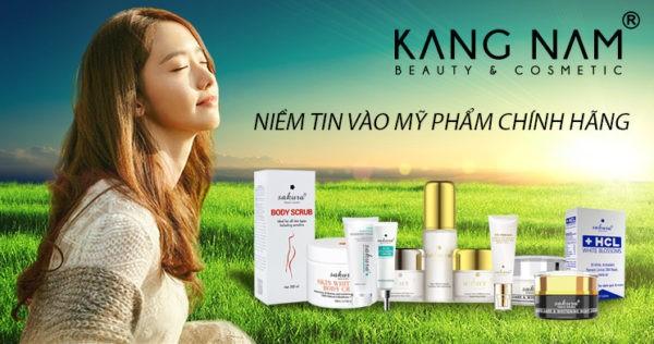 Mỹ phẩm Kang nam cung cấp Nucos spa white