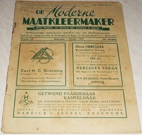 Majalah mode jaman belanda tahun 1930an ( 3 edisi). minat hub 085866230123 .