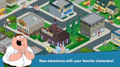 Family Guy The Quest for Stuff Apk v1.72.2 Mod android Terbaru