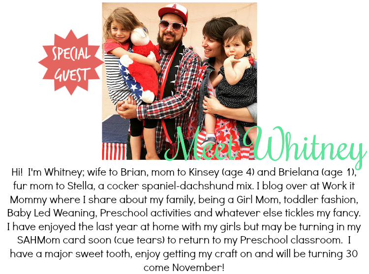 [Guest Post] Getting to Know Whitney from Work it Mommy
