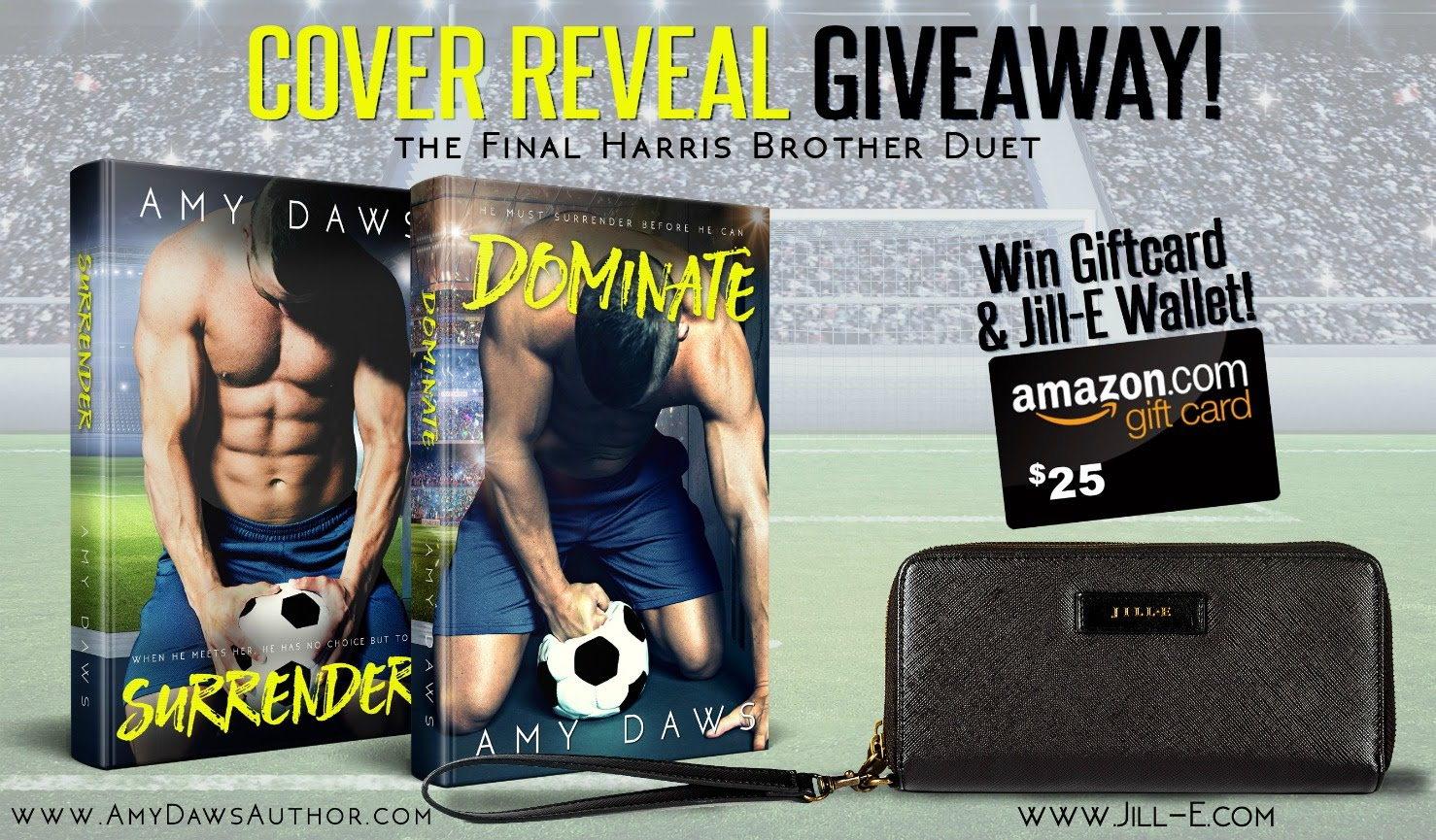 Surrender/Dominate Cover Reveal & Giveaway