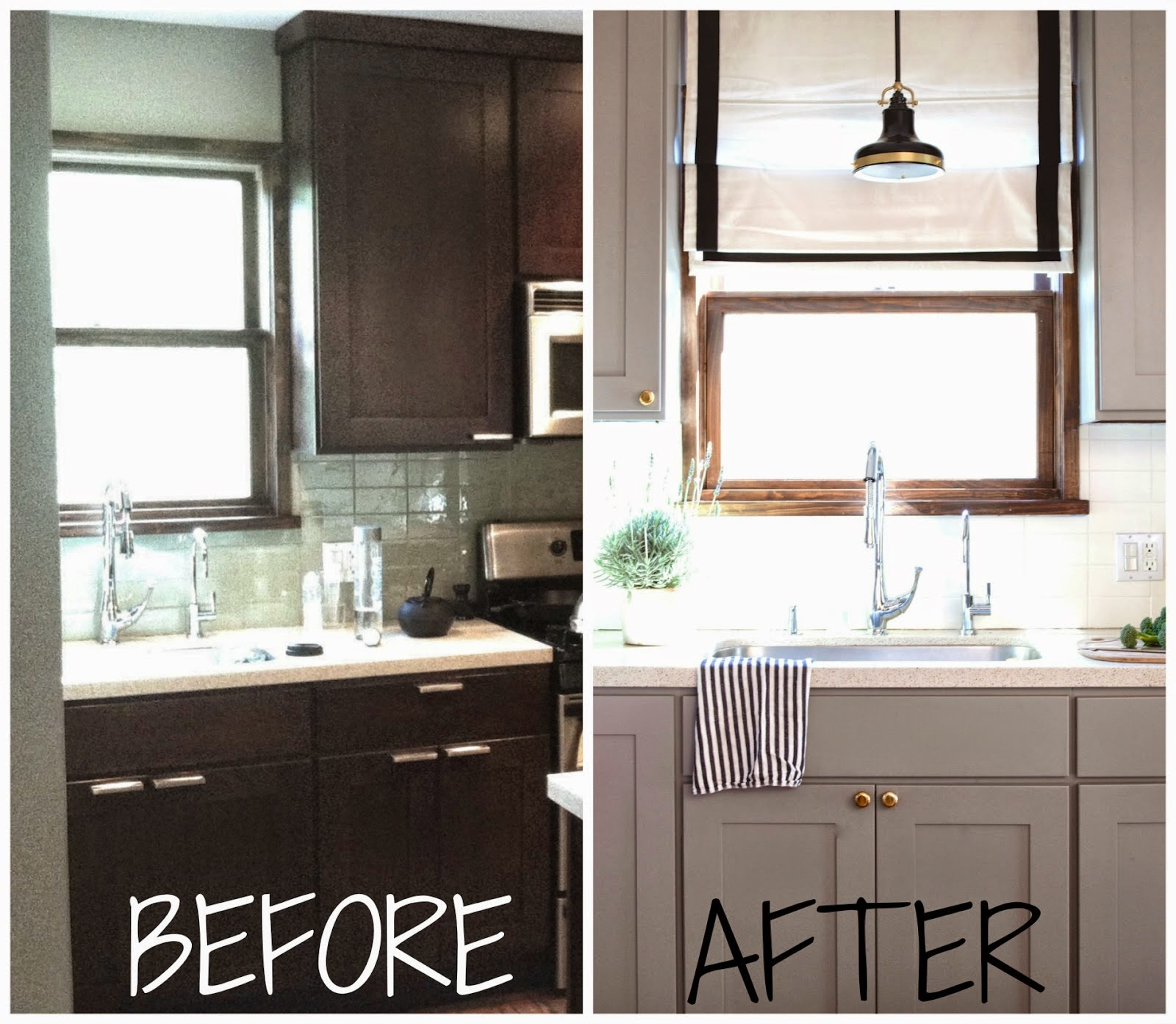 Before And After Diy Kitchen Cabinets