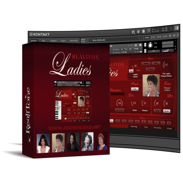 Realitone - Realivox Ladies KONTAKT Library