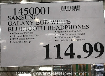 Deal for Samsung Galaxy Buds Headphones at Costco