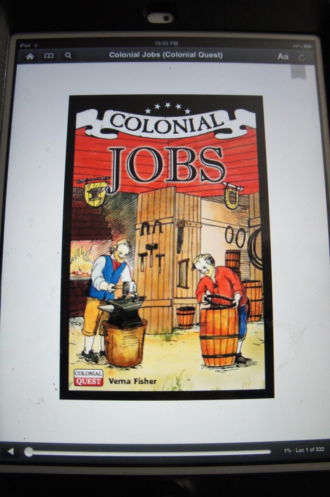 Colonial Jobs And Benjamin Franklin
