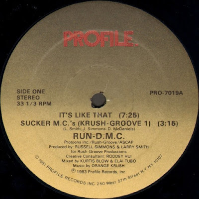 Run-D.M.C. – It's Like That / Sucker M.C.'s (Krush Groove 1) (1983) (VLS) (FLAC + 320 kbps)