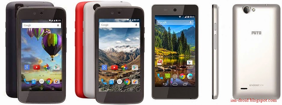 Evercoss One X, Nexian Journey One, Mito Impact A10