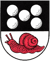 Colimaçon patient  Wappen_von_Schneckenhausen