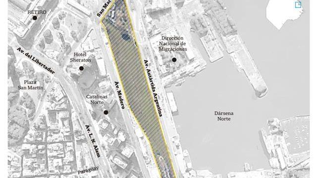Resultado de imagen para Venden más terrenos ferroviarios para financiar la autopista del Paseo del Bajo