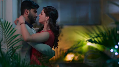 Romance Sharwanand with Mehreen Pirzada HD Image of Mahanubhavudu