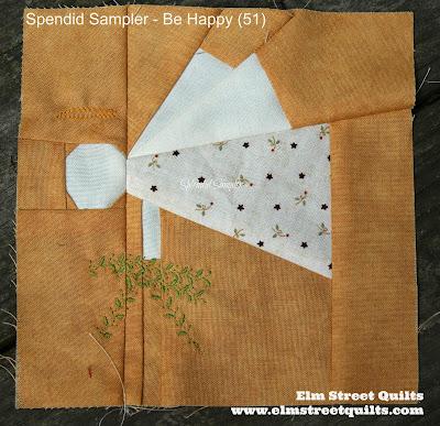 Splendid Sampler block 51