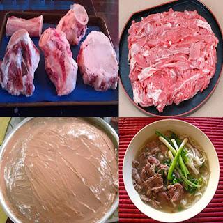 Cách nấu phở bò miền trung bằng nồi nấu phở