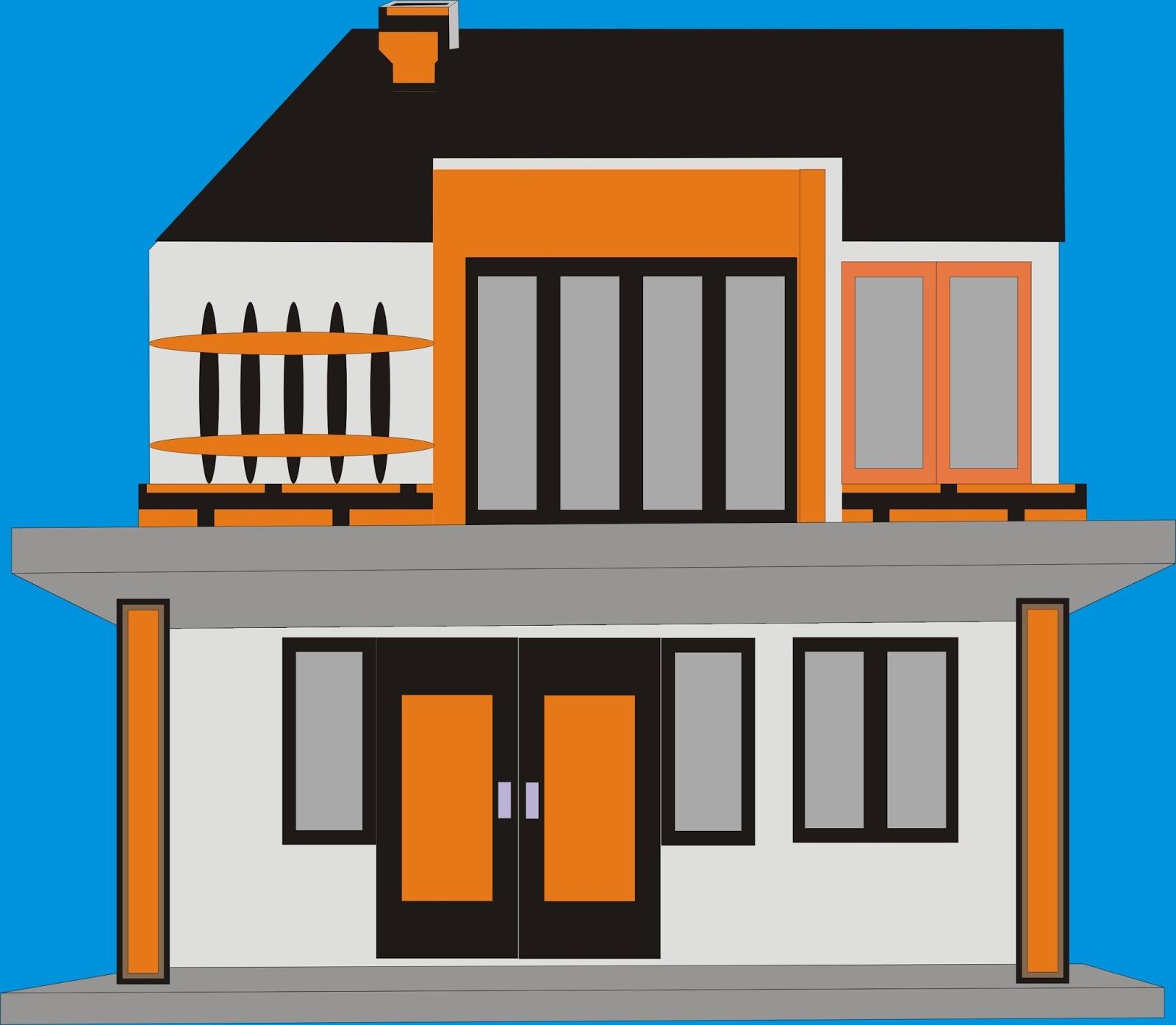 63 Desain Rumah Minimalis Dengan Coreldraw  Desain Rumah