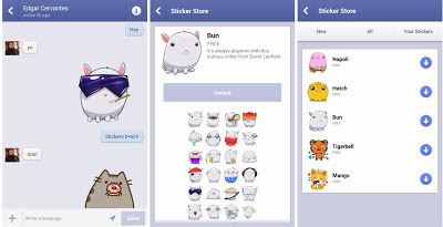 Facebook Messenger Android Kini dilengkapi Stickers, Apa itu Sticker ?