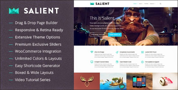 Download Free Salient v5.5.3 Responsive Multi-Purpose WordPress Theme