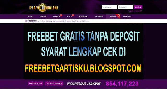 Freebet Gratis Poker Tanpa Deposit Dari PlayQQOnline