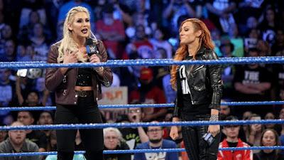 Charlotte Flair Becky Lynch WWE SmackDown Live WrestleMania