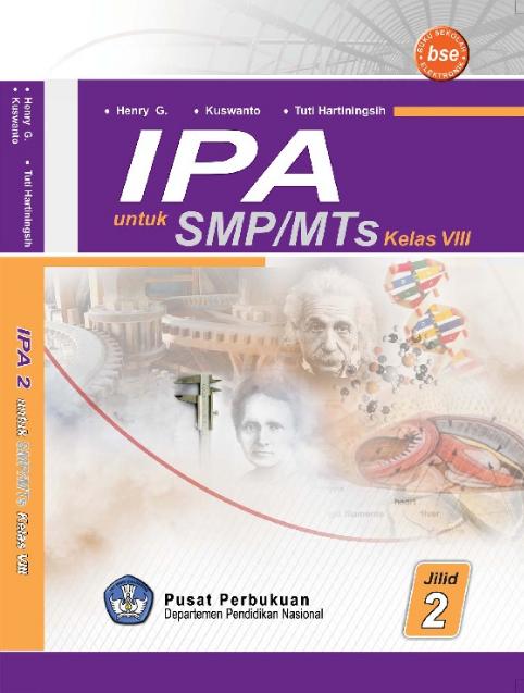 Download Buku Siswa KTSP SMP dan MTs Kelas 8 Ilmu Pengetahuan Alam