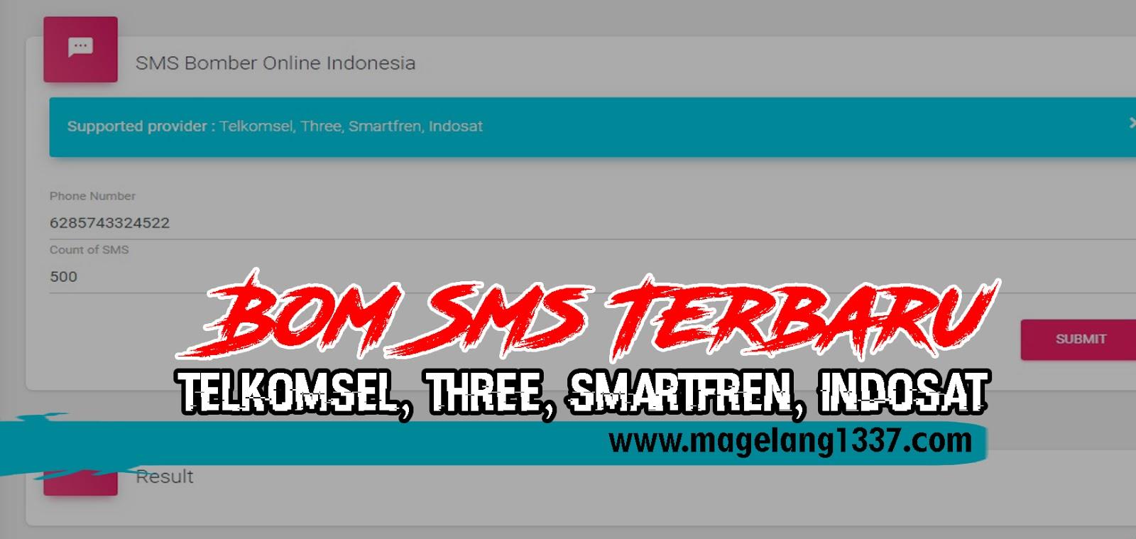 Bom Sms Terbaru 2019 [ Telkomsel, Three, Smartfren, Indosat ] - MNH-BLOG