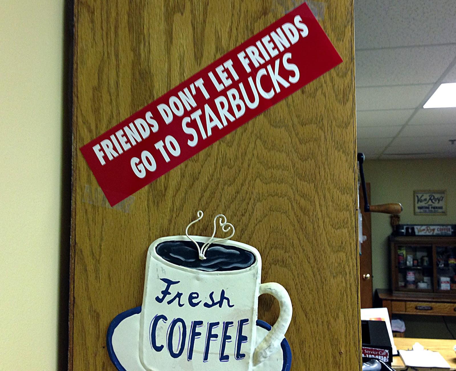Per Sticker At Van Roy Coffee Roasters