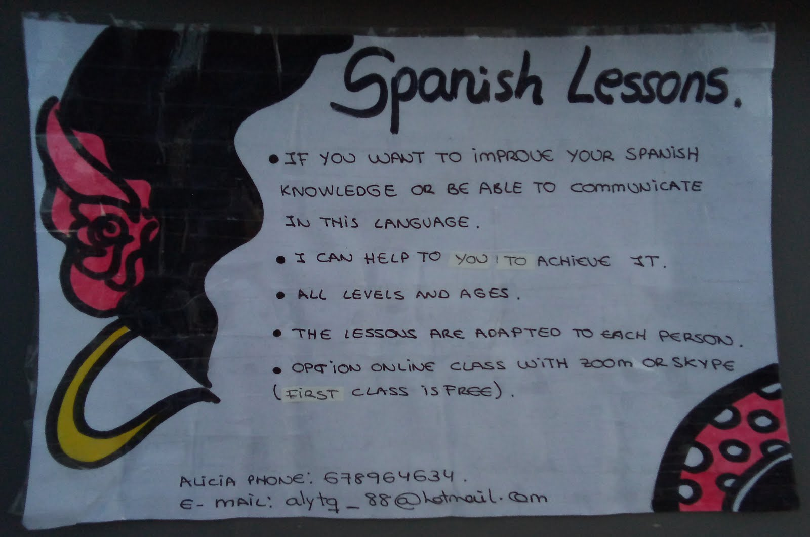 Spanish Lessons :: Alicia