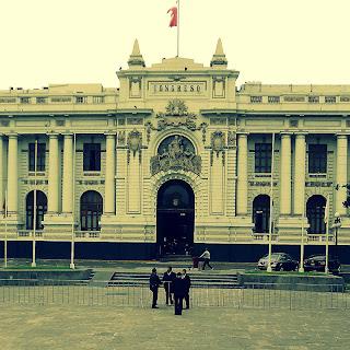 Congreso Nacional, em Lima Peru