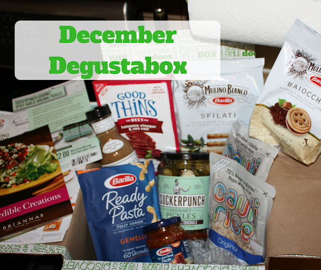 December Degustabox goodies