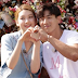 """Jota do grupo MADTOWN, e a modelo Kim Jin Kyung vão à um doce encontro na """"Torre Namsan"""" em """"We Got Married"""""""