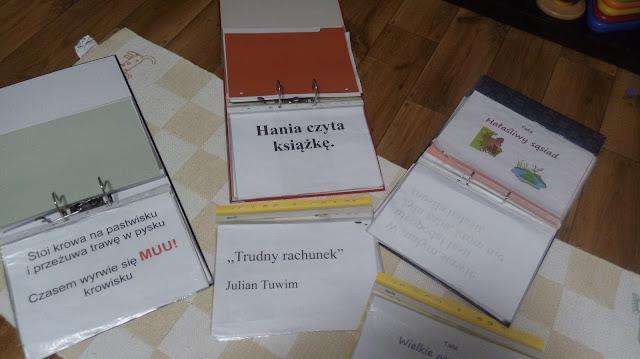 gotowe książki metoda domana karty do nauki czytanie globalne