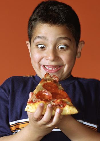 dieta de niños con sobrepeso