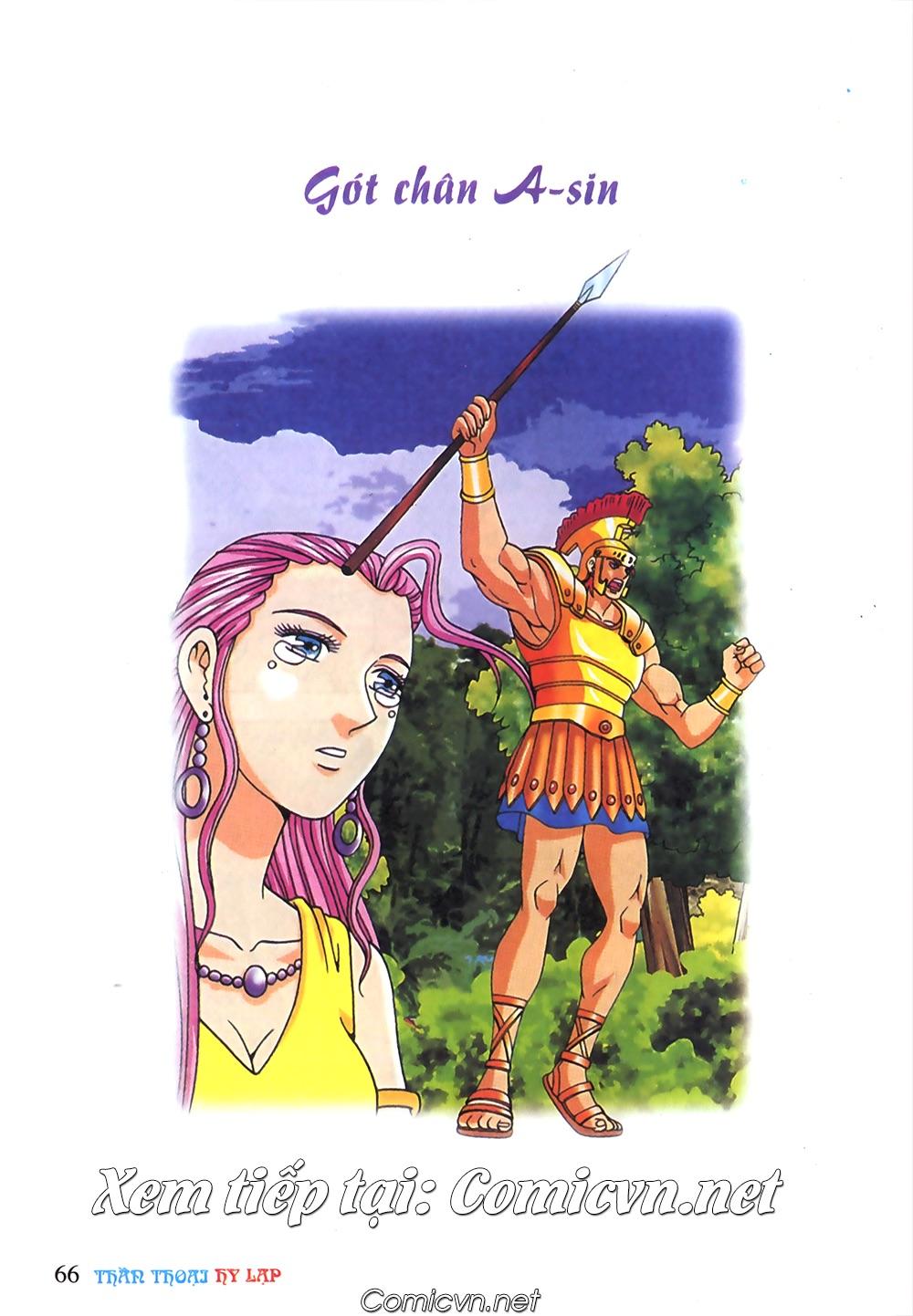 Thần Thoại Hy Lạp Màu - Chapter 63: Lão vương Pri am chuộc xác con - Pic 40