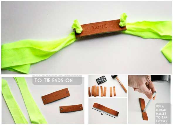 brazaletes, pulseras, cuero, trapillo, bisutería, solidaridad,