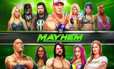 Download WWE Mayhem Full Apk + Data for android