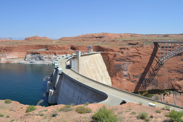 Дамба Глен Каньон, Аризона (Glen Canyon Dam, AZ)