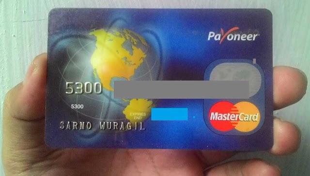 Gunakan Kartu Debit Payoneer Gratis
