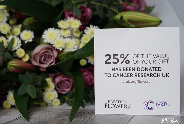 Prestige Flowers - Cancer Research UK