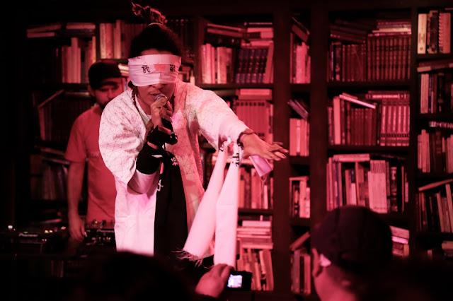 Yannick, o Afro Samurai do rap nacional no Teatro da Rotina