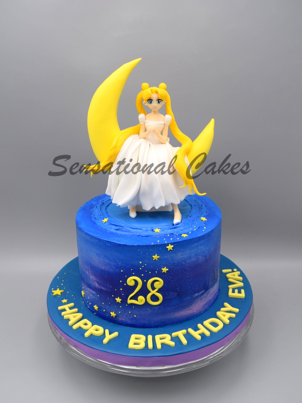 The Sensational Cakes Back Track 90s On This Sailor Moon Cake