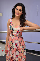 Actress Richa Panai Pos in Sleeveless Floral Long Dress at Rakshaka Batudu Movie Pre Release Function  0085.JPG