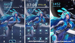 Tema Hero Mobile Legends untuk Vivo