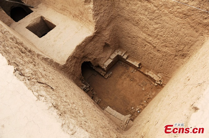 สุสานซ่างกวนหว่านเอ๋อร์ที่มีการค้นพบในปี 2013
