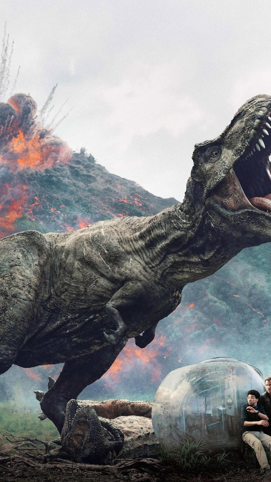 Papel de parede grátis Jurassic World: Reino Ameaçado para PC, Notebook, iPhone, Android e Tablet.