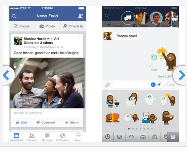 Best Apps for Facebook for IOS7